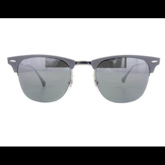 1c33f8db07 Ray-Ban Clubmaster RB8056 Titanium Sunglasses